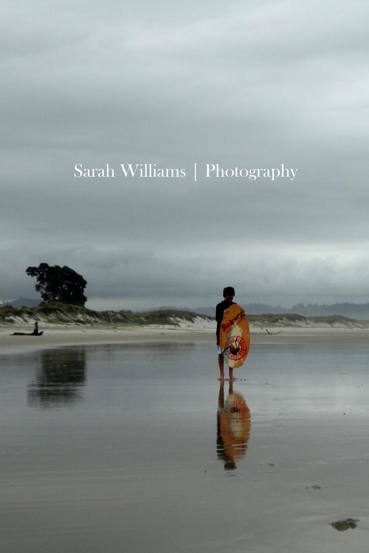 Skimboarder.  Photography | Sarah Williams  Location | Bowentown beach