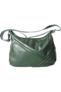 79688d456b Δερμάτινη Τσάντα Ωμου Giada Firenze Leather 3014 Σκουρο Πρασινο ...