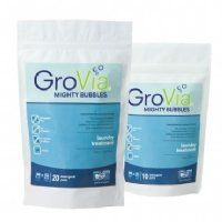 GroVia Mighty Bubbles Laundry Treatment - 20 Pack - takes the stink out of any nappy!