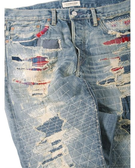 Ron Herman Denim designed by Simon Miller Authentic Straight Leg Jean in Koki