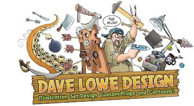 DAVE LOWE DESIGN the Blog - amazing Halloween DIY