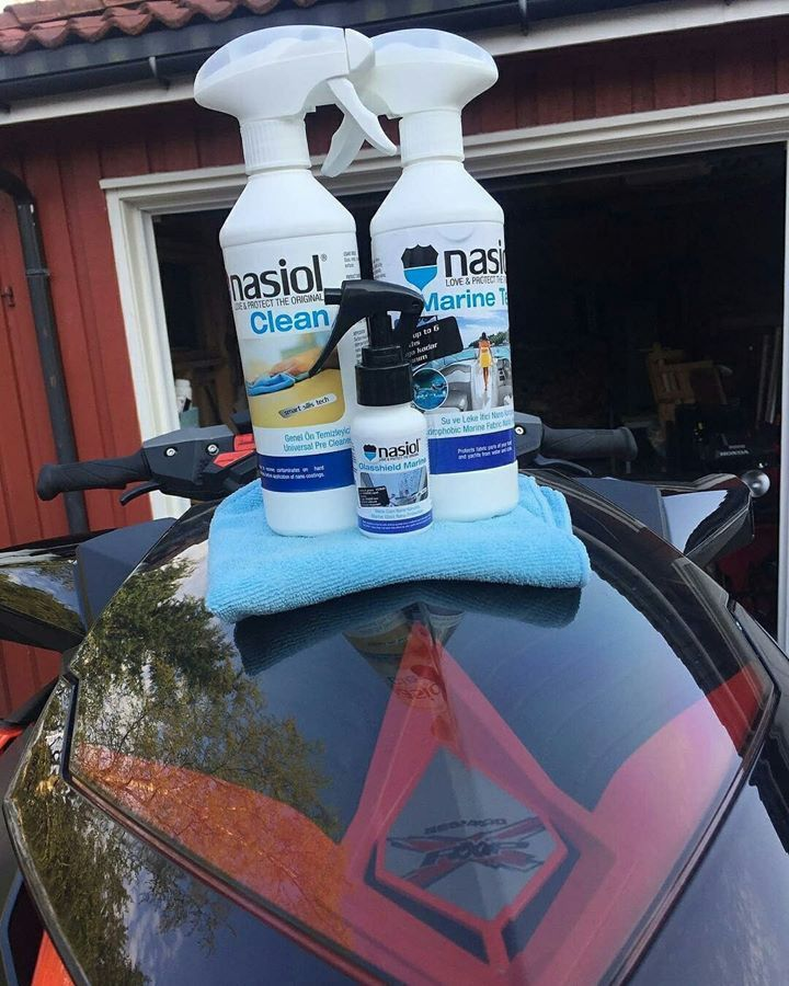 The scorching heat of the sun is on the top, time is care for Marine vehicles. Nasiol products protect your vehicles from UV rays and effect of salt water. Nasiol is there to protect. #nasiol_norge, #Nasiol #protection