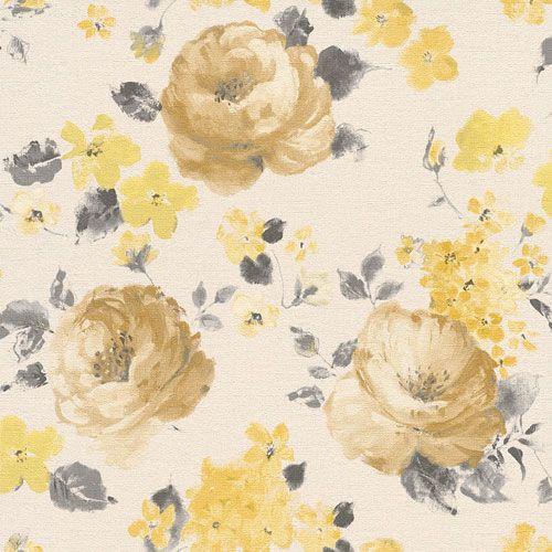 Klassiska engelska rosor från kollektionen Havanna 448887. Klicka för att se fler inspirerande tapeter för ditt hem!