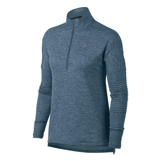 Calidez a medida. Desafía al frío con la camiseta de running para mujer Nike Therma Sphere Element.