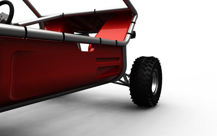 MINIKART è un progetto realizzato per L'azienda americana CARTER&BRO. La vettura è concepita come un telaio di tubolari fissati ad un pianale stampato mentre la carrozzeria è costruita con delle scocche stampate in ABS. La produzione della vettura è finalizzata a due allestimenti differenti si in termini estetici che di motorizzazione.