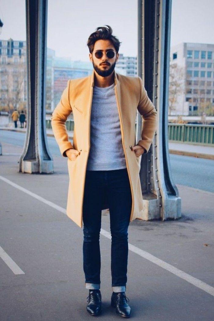 les 25 meilleures id es de la cat gorie manteaux pour homme sur pinterest pardessus hommes. Black Bedroom Furniture Sets. Home Design Ideas