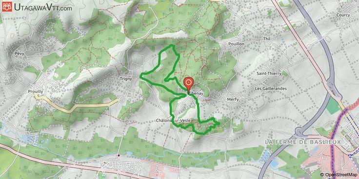 [Marne] Chenay facile Petit tour entre Chenay et Châlons-sur-Vesle, idéal pour les débutants voulant se faire plaisir entre chemin roulant et single-track dans la sablière de Châlons. Pas de difficulté technique majeure, itinéraire praticable par tous les temps.