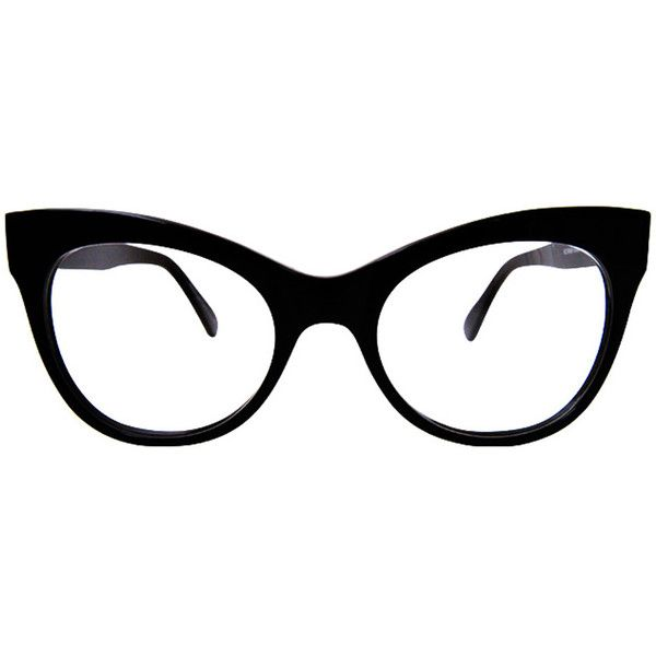 Norma Kamali Cat Eye Glasses