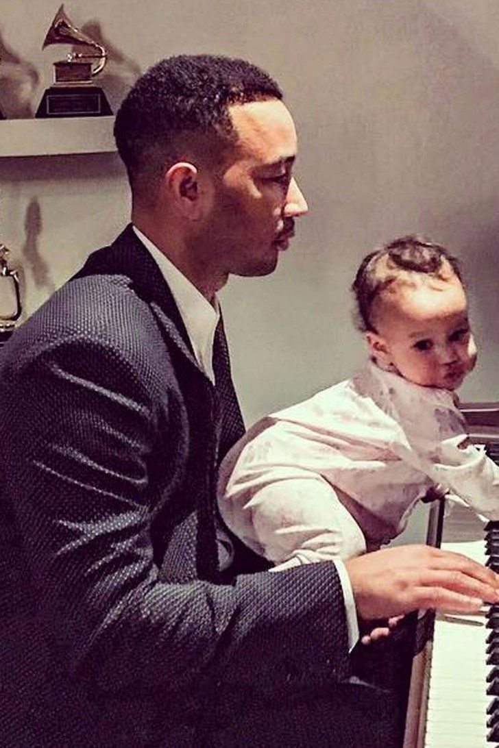 John Legend Has a Very Special Tutor to Help Him Practice For His Oscars Performance