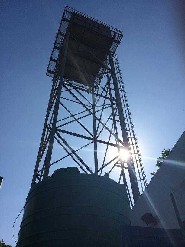 Water tower, Maputo