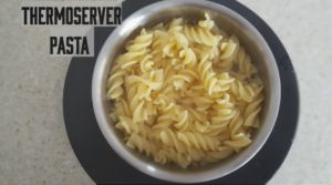 So I've discovered something super exciting that I'm dying to share with everyone…. You can cook things in your thermoserver! I've been cooking pasta in mine recently, yes I know …