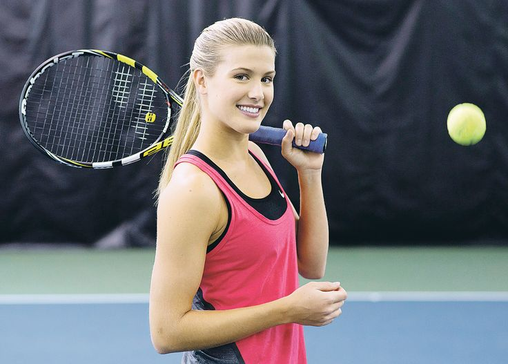 The Canadian born and very talented Eugenie-Bouchard is one of the hottest woman in professional tennis and at the age of 20 she appears to have a bright future.