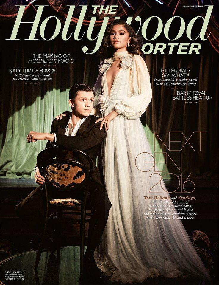 Zendaya and Tom Holland cover The Hollywood Reporter | Next Gen 2016