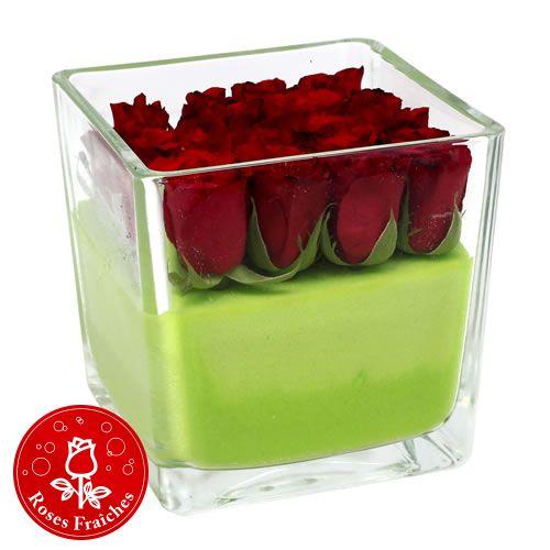 83 best centre de table mariage images on pinterest centre floral arrangements and flower - Table jardin rose toulon ...