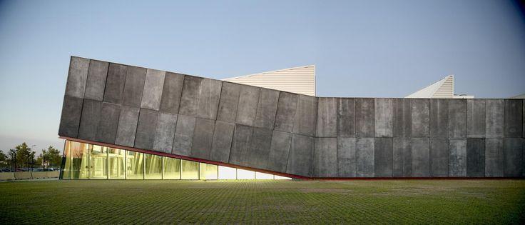 Aeronautical Cultural Centre In Prat De Llobregat by Berta Barrio i Josep Peraire http://www.archello.com/en/project/aeronautical-cultural-centre-prat-de-llobregat-barcelona-airport
