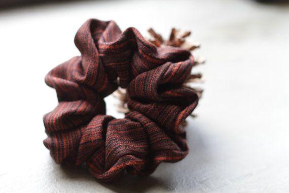 Oversized Handmade Scrunchie by Rusticmintx on Etsy