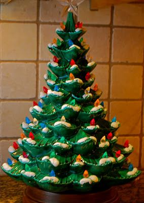 ceramic tree... I think every grandmother had one! =)