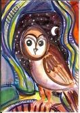 ...: Owl Paintings, Cool Paintings, Colors Owl, Owl Art, Owl Inspiration, Night Owl, Owl Drawings, Awesome Pin, Owl Pictures