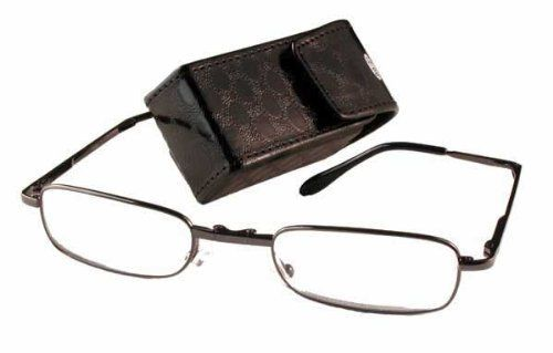 calabria folding reading glasses 0 75 power by calabria