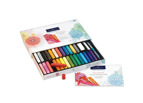 Faber Castell Mix and Match Gelato Gift Set at 20% off retail!  $47.95, via Etsy.