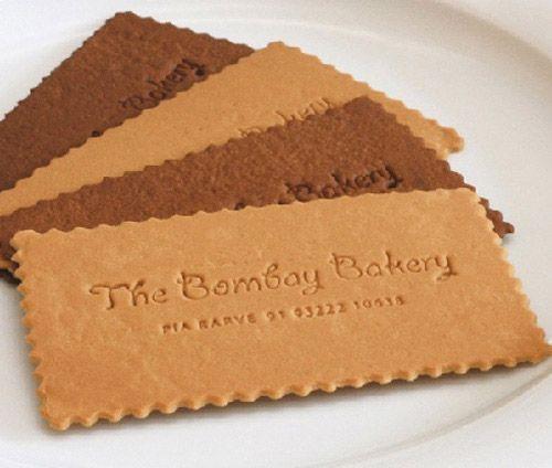 The Bombay Bakery #businessCard