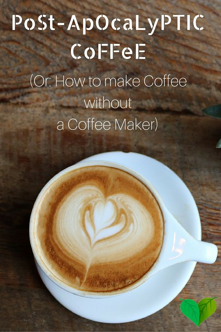 These two methods of making coffee without a coffee maker are not only perfect in an emergency, they're also great to remember the next time you go camping! http://everyhomeremedy.com/how-to-make-coffee-without-a-coffee-maker/