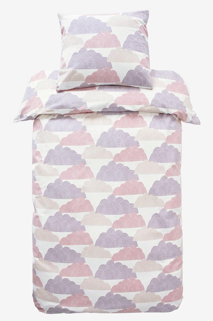 Clouds CLOUDS påslakanset 2 delar - ekologisk - Rosa - Sängkläder - Jotex.se