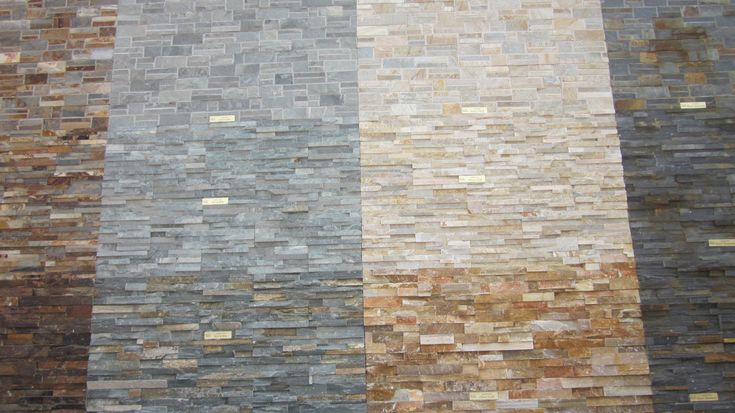 Thin Brick Veneer Stone Natural Thin Stone: 15 Best Images About Stone Walls On Pinterest