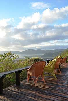 Phantom Forest Eco Reserve, Knysna Sip champagne in a bubble bath under the stars on the deck of your treehouse in the tangled branches of the Knysna forest. Whisk your beloved off to a jungle hideaway overlooking the magnificent Knysna lagoon on South Africa's famous Garden Route. With a spa, superb food, indulgent luxury and eco-credentials, she'll feel truly pampered, but you will be setting a precedent! Tel: +27 44 386 0046 // http://phantomforest.com