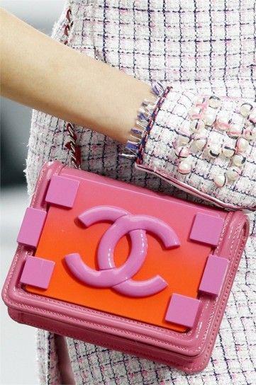 Tracolla Chanel primavera estate 2014