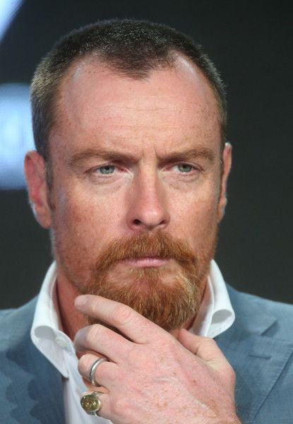 Actor Toby Stephens speaks onstage during the Black Sails panel as part of the Starz portion of This is Cable 2016 Television Critics Association Winter Tour at Langham Hotel on January 8, 2016 in Pasadena, California. (Jan. 6, 2016 - Source: Frederick M. Brown/Getty Images North America)
