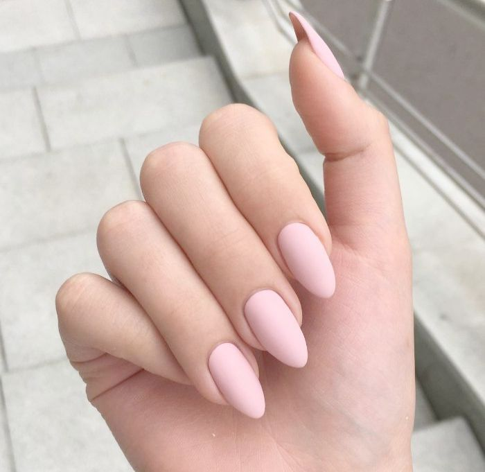 Amazon Com Online Shopping For Electronics Apparel Computers Books Dvds More Pink Acrylic Nails Matte Pink Nails Baby Pink Nails