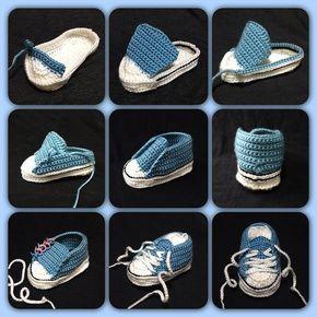 crochet tuto slippers (13) Plus