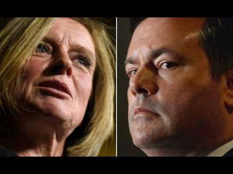 Jason Kenney Calls AB Premier Rachel Notley a DOORMAT