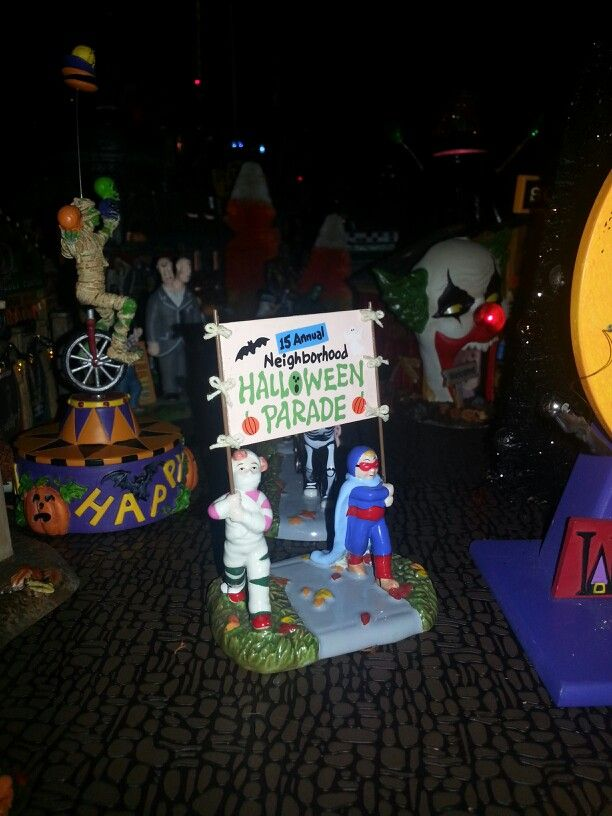 The Halloween Parade...Monsters Amusement Park