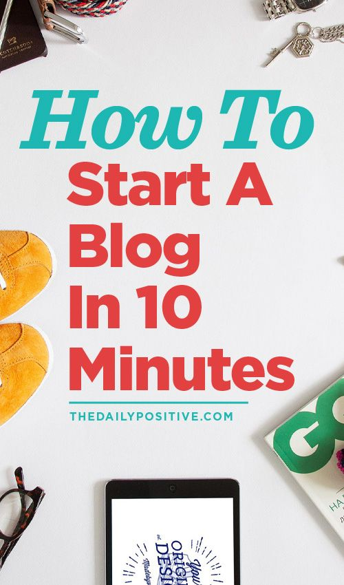 If you want to start a blog, then you must read this!