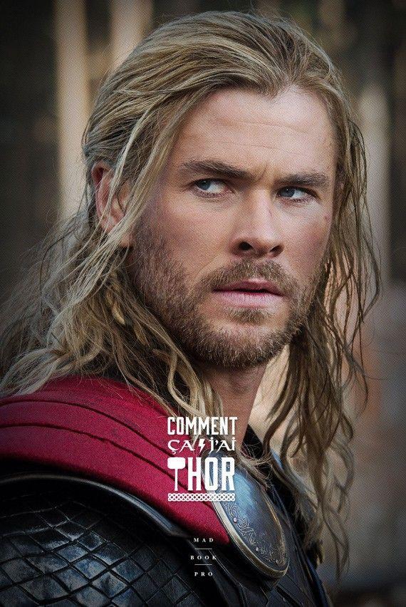 J'en ai rien affiche - Thor