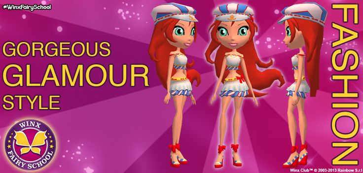 Fashion Week!  Bloom is ready for an Ocean holiday in her glamorous Yacht outfit :)