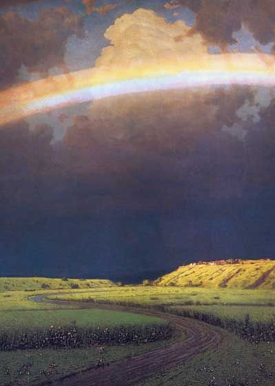 Illustrator: Arkhip Kuindzhi Imprint: Laughing Elephant Nature Rainbows Sky'