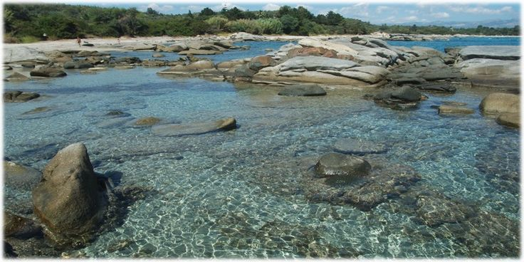 #Ogliastra - Foxi Lioni The natural continuation of Lido di Orri, the #beach of Foxilioni , characterized by fine white sand, is protected by dunes dotted by green #Mediterranean. The shallow and clear waters make it, between the beaches of Ogliastra, a destination particularly popular with snorkelers.