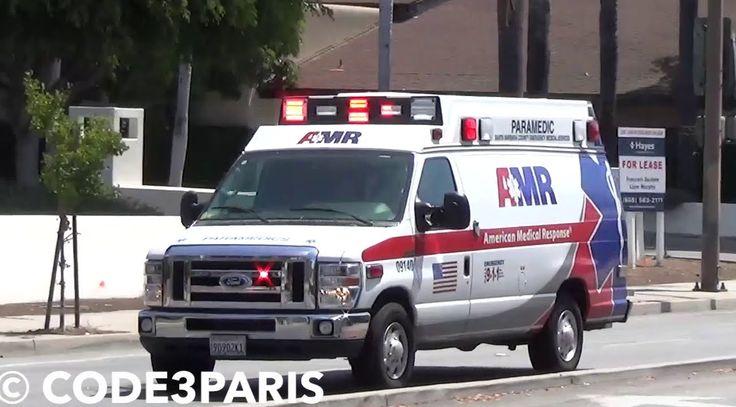 Santa Barbara Ambulance with Rumbler Siren