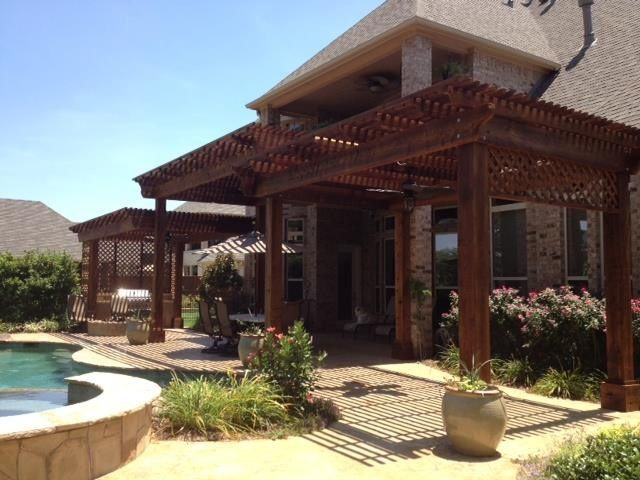 78 Best Images About Pergolas Arbors Covered Patio On