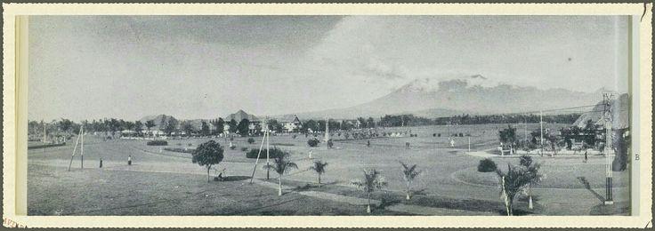 Beatrix Park Malang before 1939.