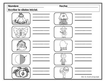 56 best Tareas Dannaí 2do kinder images on Pinterest   Dual language ...