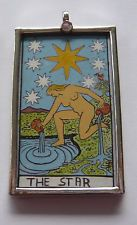 SPECIAL PRICE this week, only The Star available, and very limited quantities! http://www.ebay.ca/itm/Tarot-Card-Handpainted-Artisan-Pendant-Sterling-Silver-The-Star-/191253895441?pt=Handcrafted_Artisan_Jewelry&hash=item2c879ed911