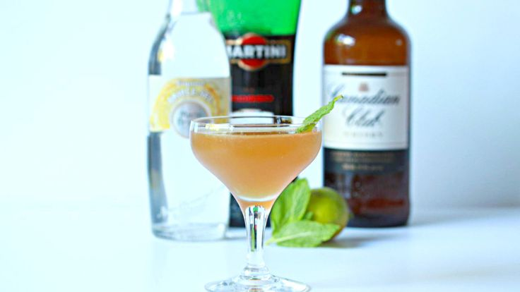 """ORANGE WHISKY COUPE: The Melbourne Cup Carnival is here! and what better way to celebrate Derby Day than with a """"Derby Day Cocktail"""". Mixed with Whisky, Dry Vermouth, Triple Sec and Lime Juice. Recipe on the blog."""