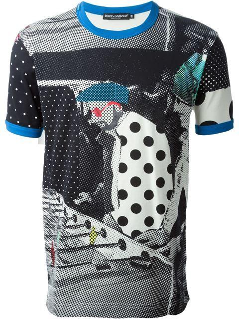 "D&G mam Dolce & Gabbana t-shirt imprimé ""Sicilian Mambo"""