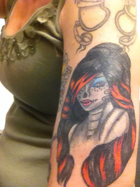monster high doll tattoo awesome tattoo ideas