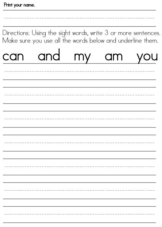 Printables Writing Worksheets For First Grade 1000 images about 1st grade on pinterest anchor charts first worksheets for graders sight word worksheets
