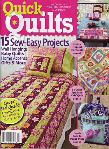 Quick Quilts 102 - Lita Z - Álbuns da web do Picasa...FREE BOOK!!
